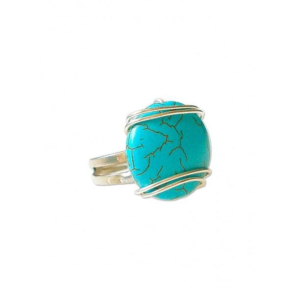 Χειροποίητο δαχτυλίδι με χαολίτη