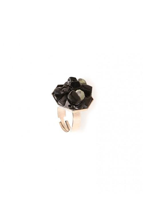 Δαχτυλίδι με ορυκτό όνυχα