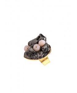 Δαχτυλίδι με ορυκτό αιματίτη